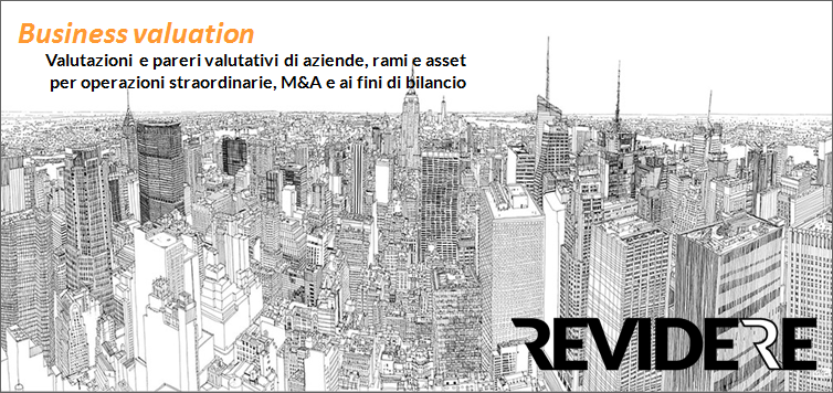Business valuation e i Principi Italiani di Valutazione